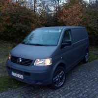 VW T5 met USLights