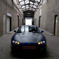 Mazda MX5 met USLights