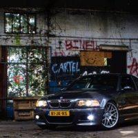 BMW e46 M3 Met USLights in grafiti setting