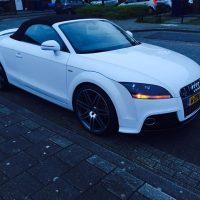 Audi TT RS met USLights cabrio