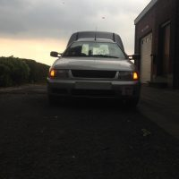 VW Caddy met USLights schemer