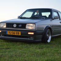 VW Jetta 2 coupe grijs