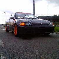Honda Civic racer
