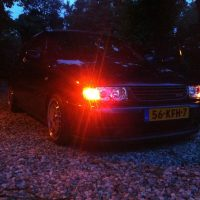 VW Polo 6N 16v met LED lampen USLights