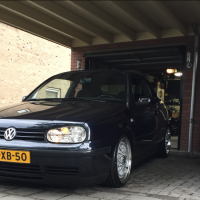 Golf 4 Cabrio met USLights