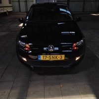 VW Polo 6R met USLights in stalling