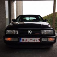 VR6 Corrado met USLights koplampen uit
