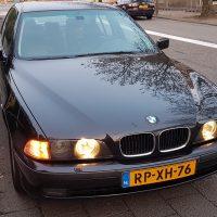 BMW met USLights 5 serie
