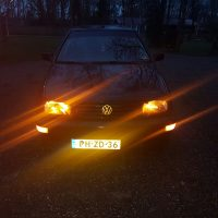 VW Vento met USLights in Amerikaanse bumpers