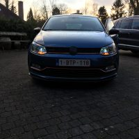 Polo 6R gti met USLights