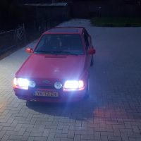 Ford Escort Xenon en USLights
