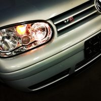 Golf 4 V5 met USLights