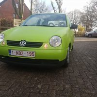 VW Lupo groen met USLights verlaagd