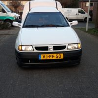 VW Caddy met USLights