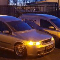 Opel Astra Van met USLights
