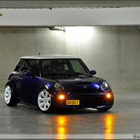 Mini One met USLights en stance