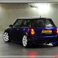 Mini One Cooper rear uslights white roof and wheels
