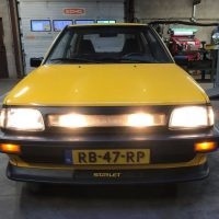 USLights in Toyota Starlet Turbo rare zeldzaam