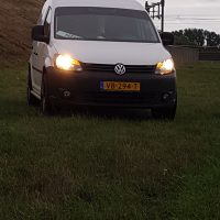 VW Caddy met USLights nieuw type front
