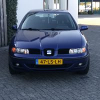 USLights in Seat Leon blauw