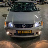 Polo 6N GTI VW met xenon en USLights