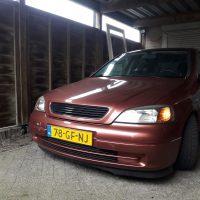 Opel Astra met USLights overdag embleemloos