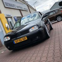 Golf 4 met USLights, lowered en toffe mistlampen