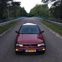 Golf 3 met USLights in bumper