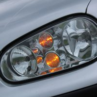 VW Golf 4 met USLights R32 koplampen
