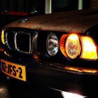 BMW 5er reihe met USLights e34