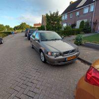 Volvo S40 met USLights ingeschakeld