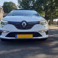 Renault Megane met USLights en led lampen