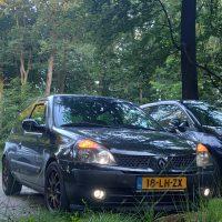 Renault Clio met USLights aan