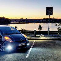 USLights in Toyota in Denmark