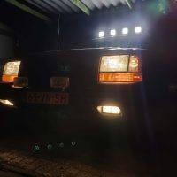 Jeep Grand Cherokee with USLights en rooflights